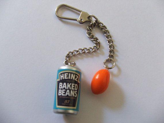 UK United Kingdom London Calling Bronze Keychain Keyring