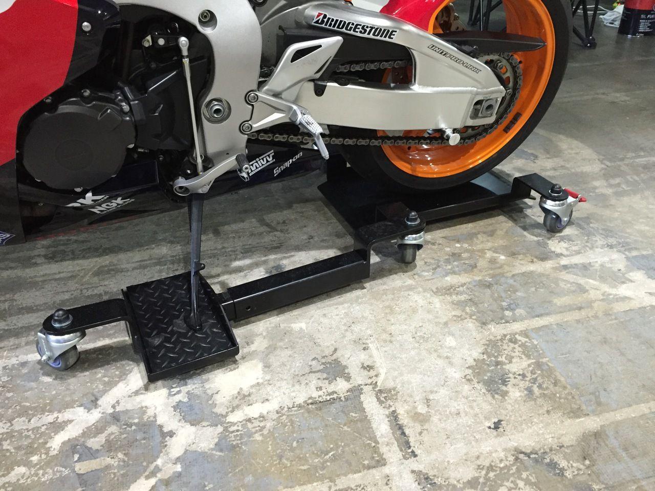 RollAway Motorcycle Mover RAMM Modificaciones de motos