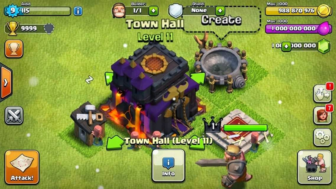 Clash Of Clans Review COC Gem Generator Místa kam se chci