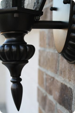 Step By Step On Repainting Exterior Light Fixtures Home