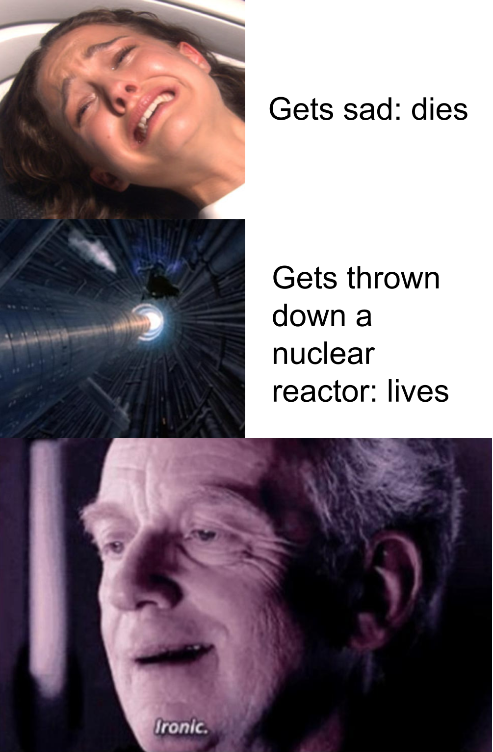 Probably Done Before Prequelmemes Star Wars Quotes Funny Star Wars Humor Funny Star Wars Memes