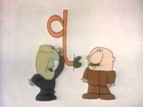 Classic Sesame Street animation - the letter Q school alphabet - animation resume