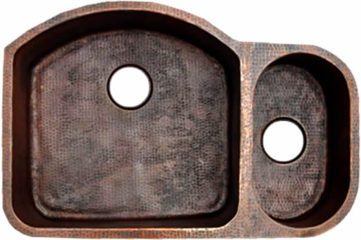 80 20 Copper Kitchen Sink Double Bowl Undermount Or Drop In 32 Or 35 Inch Various Colors Item Number Cpks2 Tdb802033229 Price Without Options M