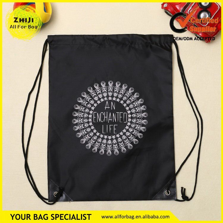 Best Price First Grade Nylon String Bag No Minimum Custom Drawstring