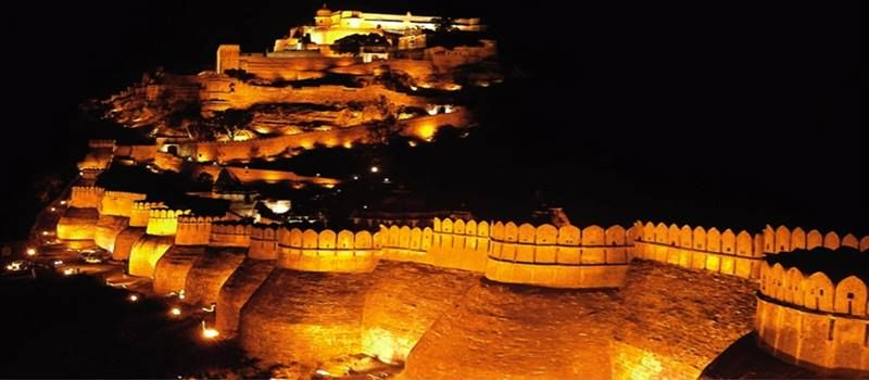 Kumbhalgarh Fort, Rajasthan, India - where the Middle Ages come to life