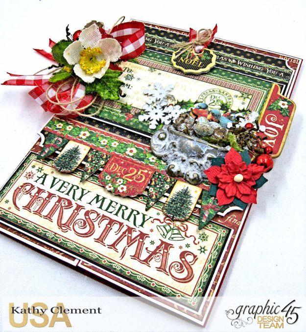 Ein sehr fröhliches Weihnachtskarten-Tutorial   – Christmas mini album ideas