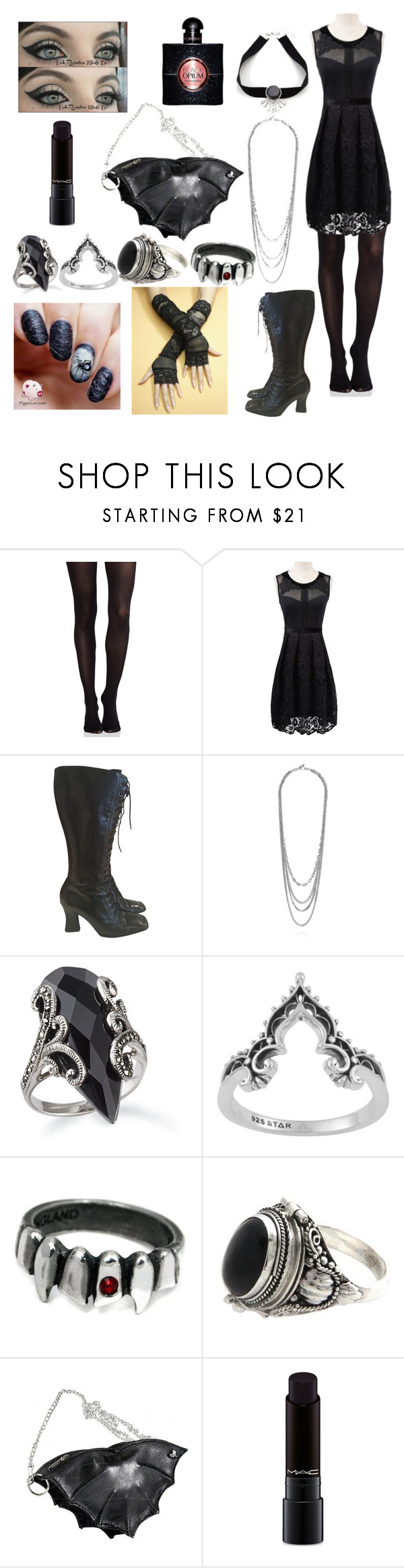 """""""casual bat"""" by banasheeanni ❤ liked on Polyvore featuring SPANX, Prada, NOVICA, MAC Cosmetics and Yves Saint Laurent"""
