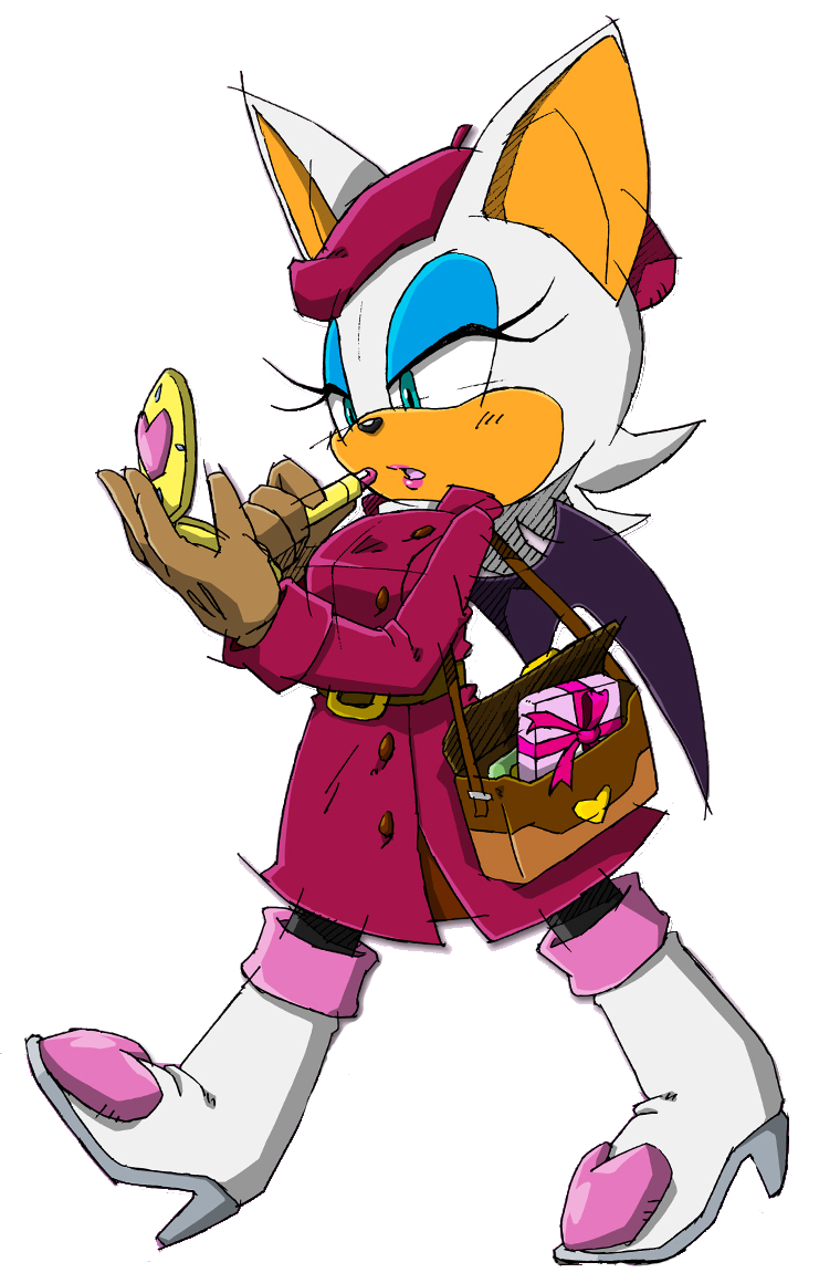 and rouge unleashed Sonic mobius the bat