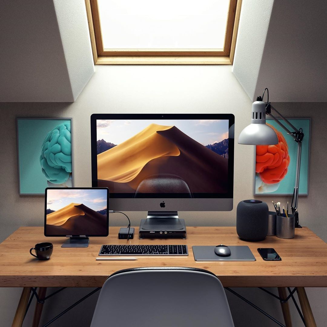 30 Best Home Office Designs For Your Inspiration Cool Classic And Modern Home Office Setup Desk Setup Home Office Design
