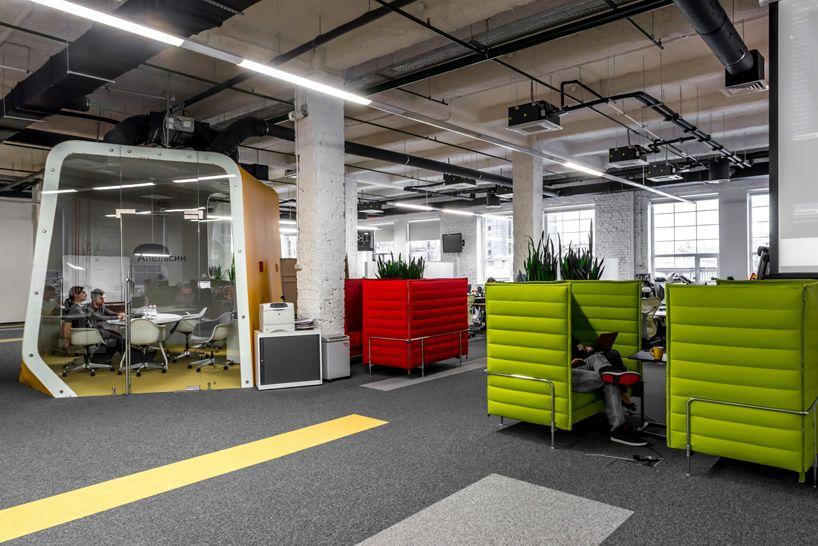 Za Bor Architects Makes Yandex Office Pop In Moscow   Designboom |  Architecture U0026 Design Magazine