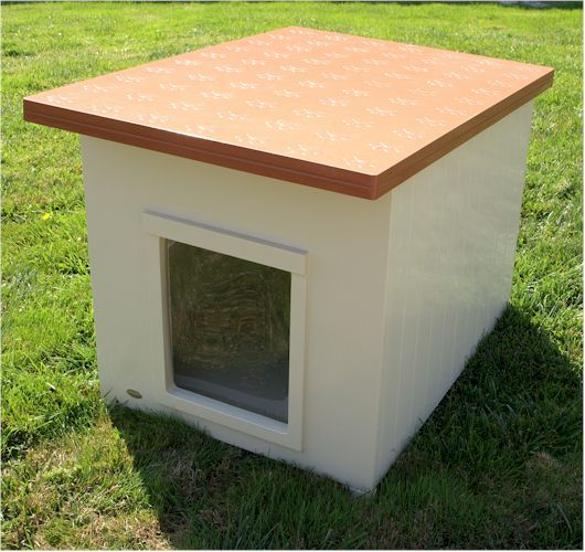 Simple Flat Roof Dog House Plans The Flat Roof Gives Your Dog A