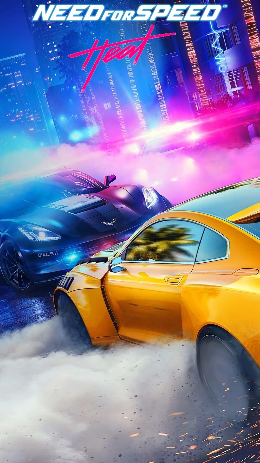Need for speed heat wallpaper phone backgrounds for free