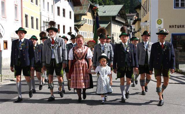 Costumes traditionnel : Trachtenvereine Berchtesgaden