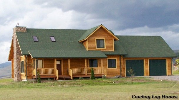 Prong Horn Floor Plan 2 114 Square Feet Cowboy Log Homes Garage Apartment Plans Log Homes House Plans With Photos