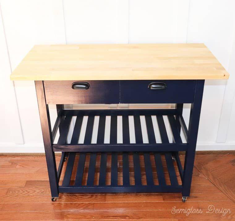 Ikea Forhoja Hack Three Ways To Use A Kitchen Cart Meubels