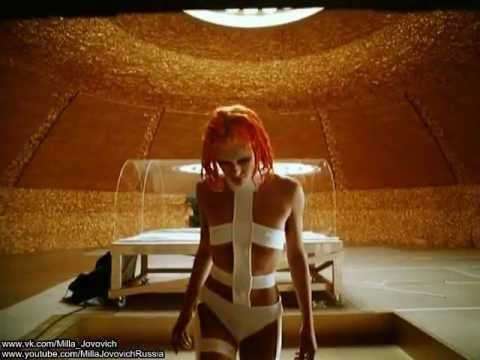 Milla Jovovich - Screentest Costumes Leeloo for The Fifth ...