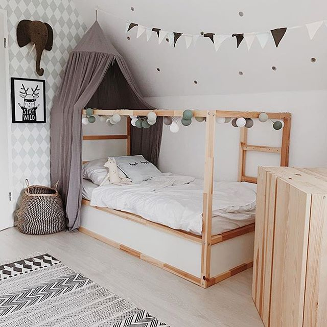 Noah and Phoebe have been asking for bunk beds for a while. I decided to go for the IKEA Kura and turn them into bunks. We've now had them… #disneyhousedecor