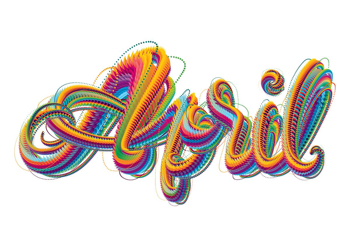 AIGA LA - April on Behance