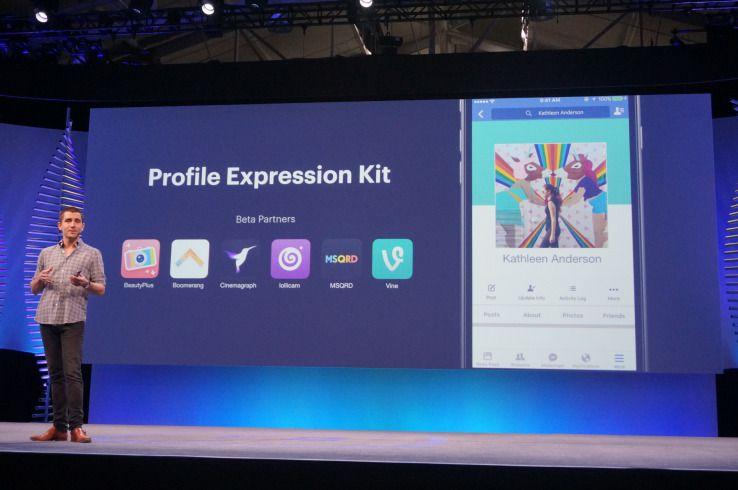 Facebook lets users record Facebook profile videos in