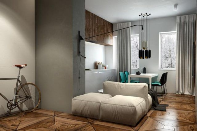 35+ Briliant Interiors Where Wood And Concrete Meet Ideas Home