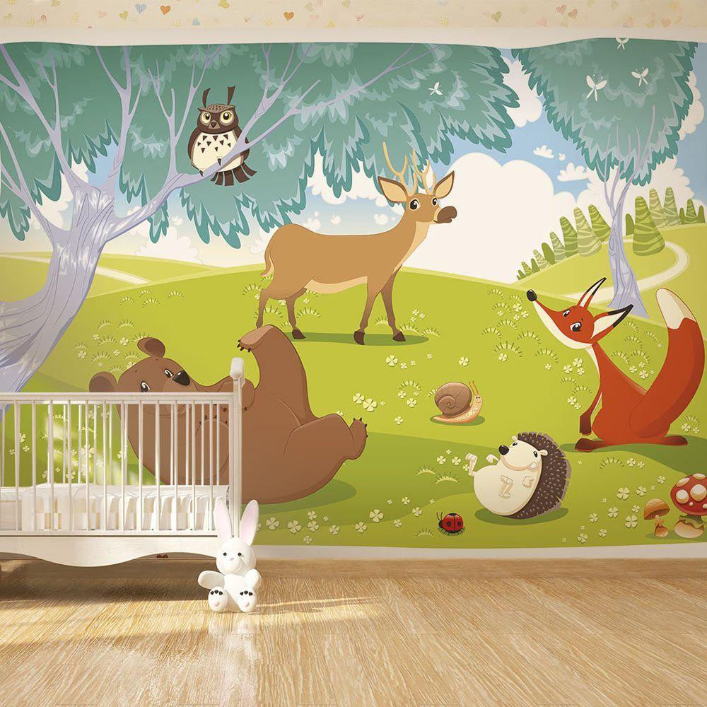Wall Mural - Funny animals | Wall murals, Original wallpaper and ...