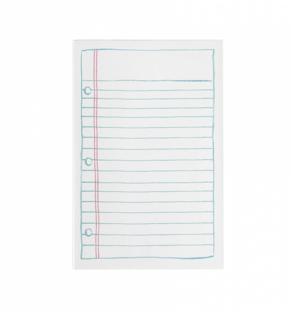 Lined Paper Notepad  Can You Print On Lined Paper