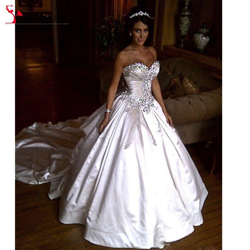 Encontrar Más Vestidos de Novia Información acerca de 2016 nuevo más el tamaño vestido de boda vestidos de novia…