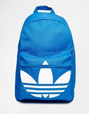 adidas Originals Classic Backpack in Blue     b a g s     Pinterest ... ac0de3aeeb