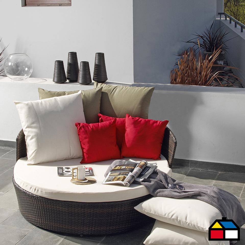 Ratan Primavera Airelibre Sodimac Terraza Muebles Terraza Muebles De Exterior Muebles