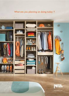 Image result for gear storage in a tiny apartment