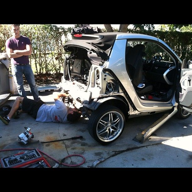 Instagram Photo By 2002superduty Smartcar Tuning Smart Car
