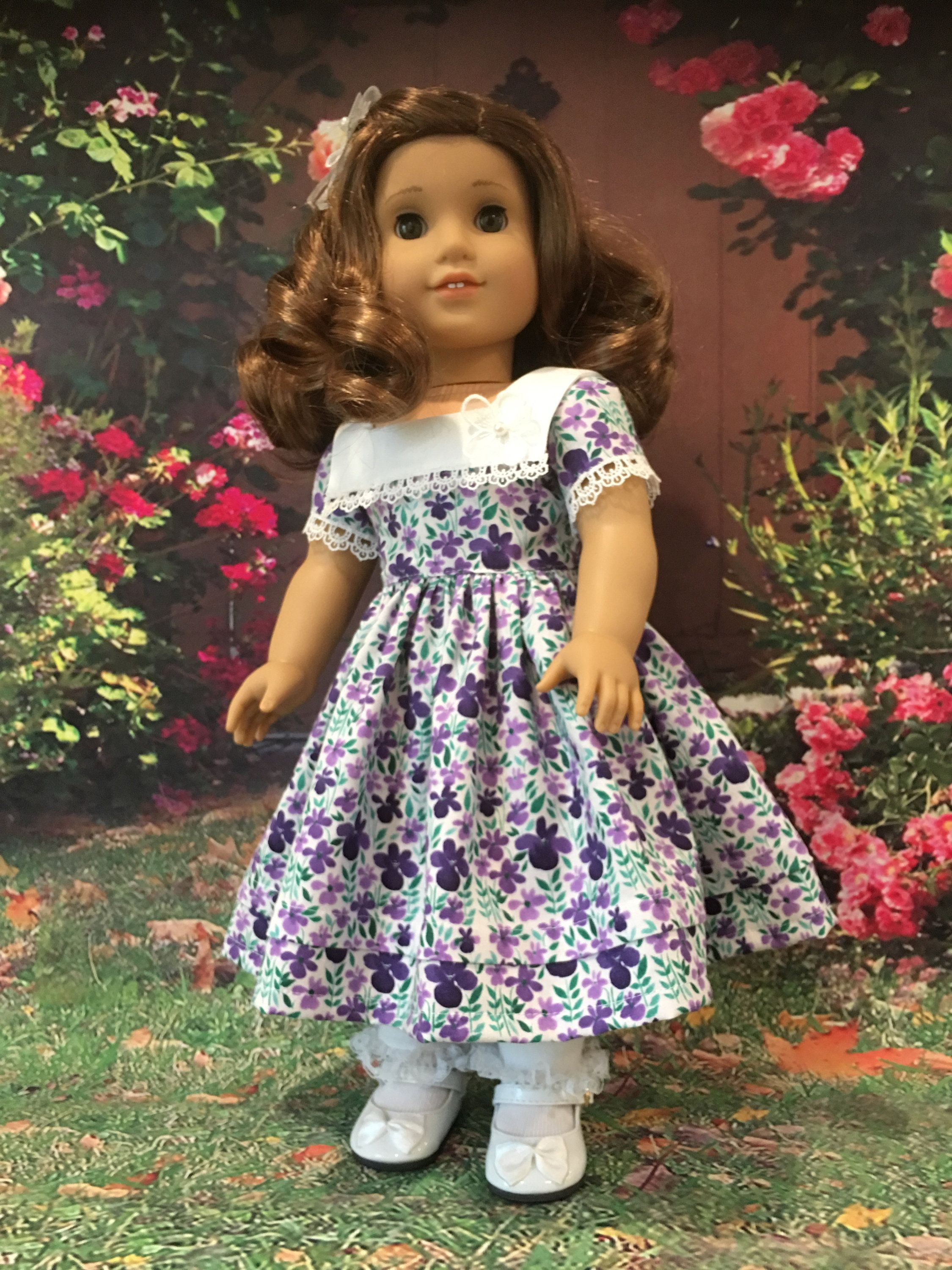 Petals and Lace fits American Girl Dolls
