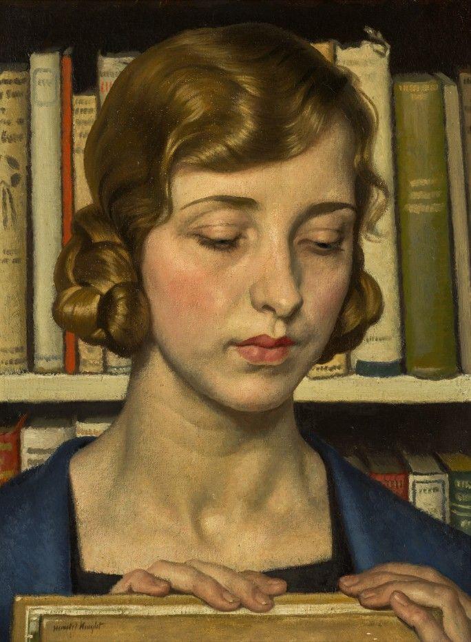 Harold Knight, Books, Portrait of Laura Knight.