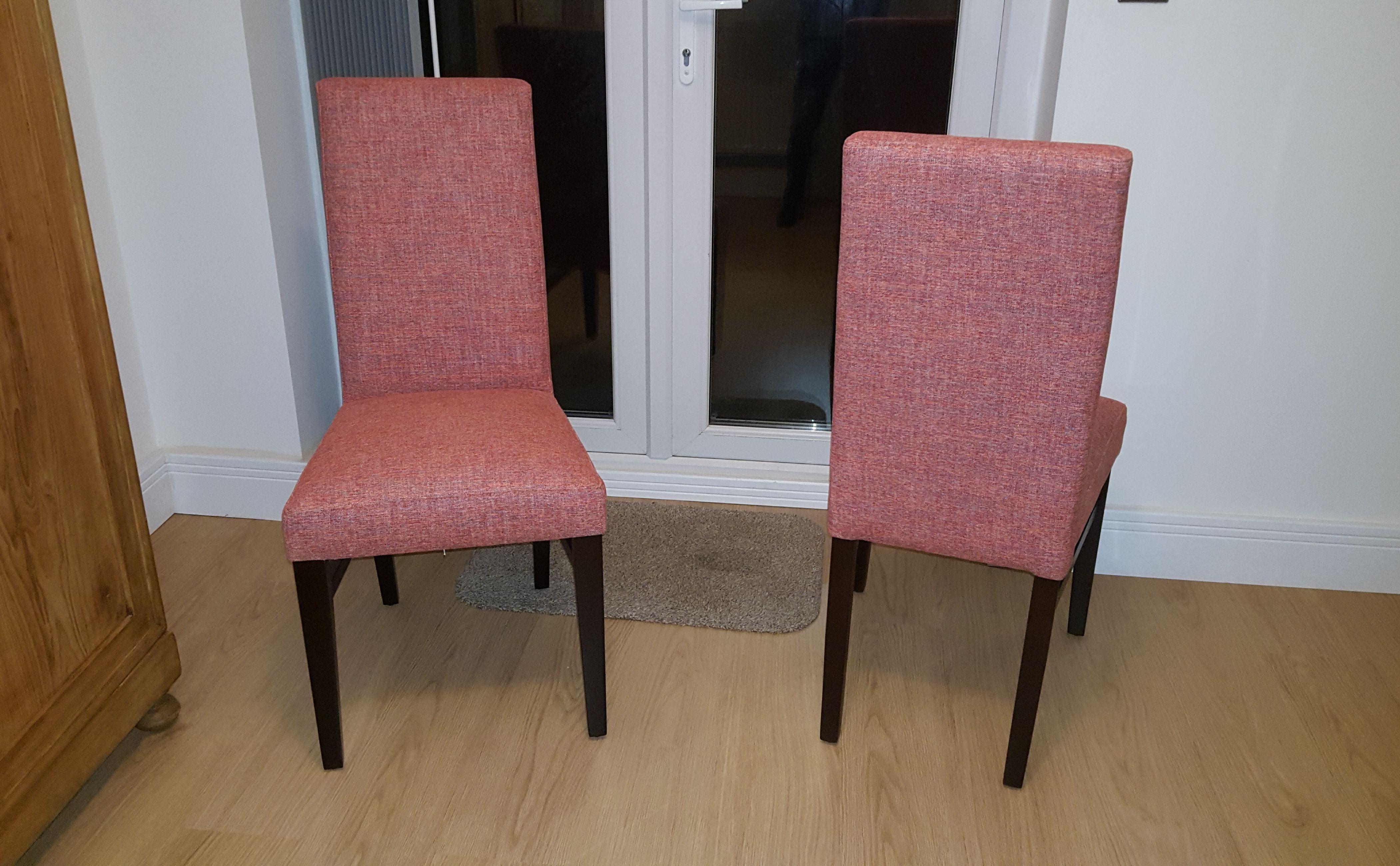 Our Paris Dining chairs in Aquaclean Darwin