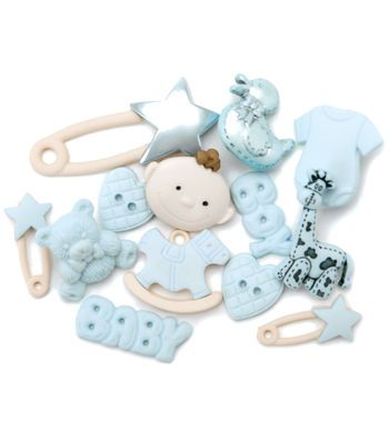Dress It Up Embellishments-Baby Boy