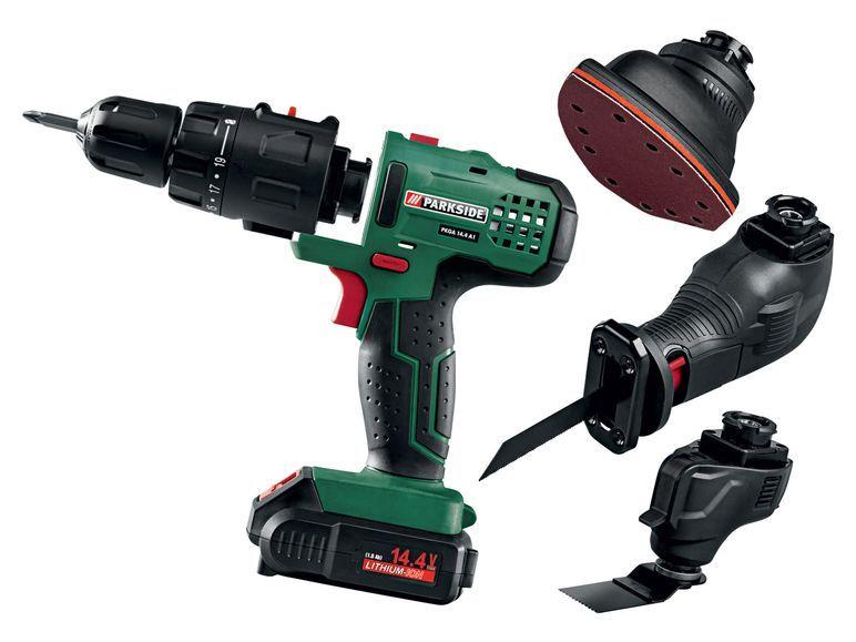 Parkside 4 in 1 kombiger t pkga 14 4 a1 1 power tools for Trapano avvitatore parkside 20v recensioni