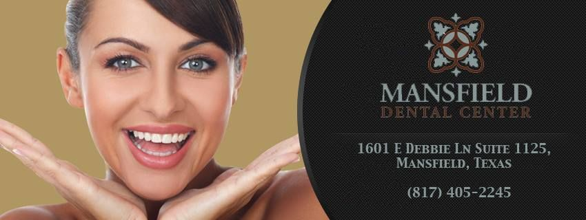 Mansfield Dental Center offers a plethora of services to