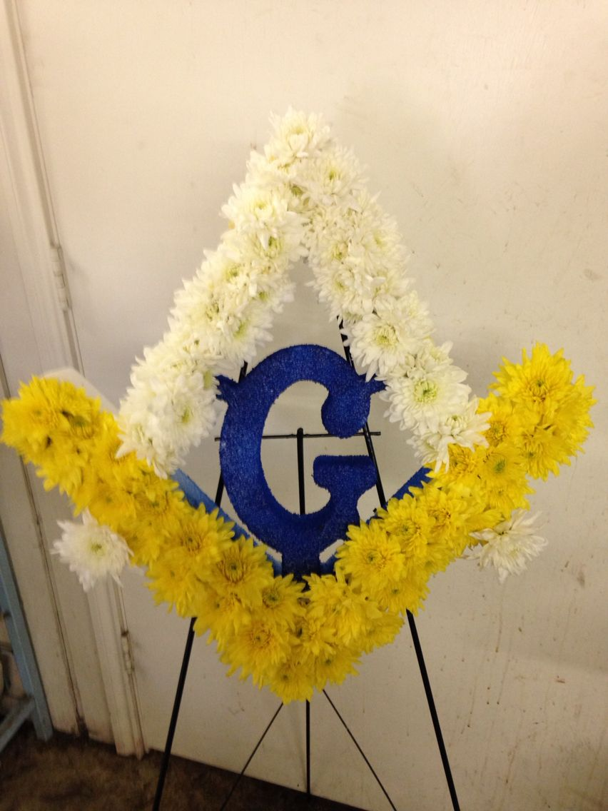 Masonic Debs flowers Baskets and stuff   sympathy flowers ...