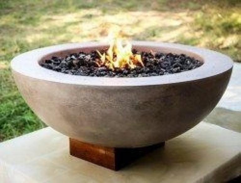 40 Diy Tabletop Fire Bowl Designs Minimalis