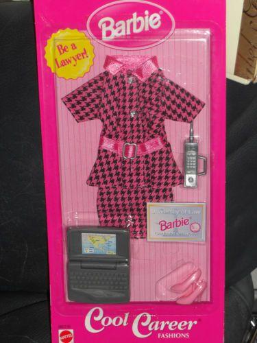 Vintage Be A Lawyer Barbie Cool Career Fashion Career Fashion