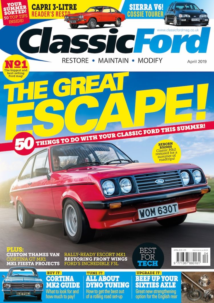 Classic Ford April 2019 issue out now (With images) Ford