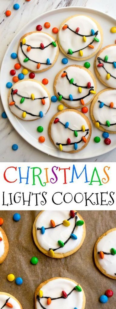 Easy Decorated Christmas Cookies - 10 Best Cookie Recipes #cookies