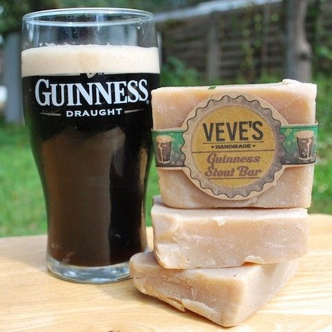 GUINNESS BEER SOAP! Oh yeah baby! This was a hit for Christmas! From  VevesHandmade on Etsy!
