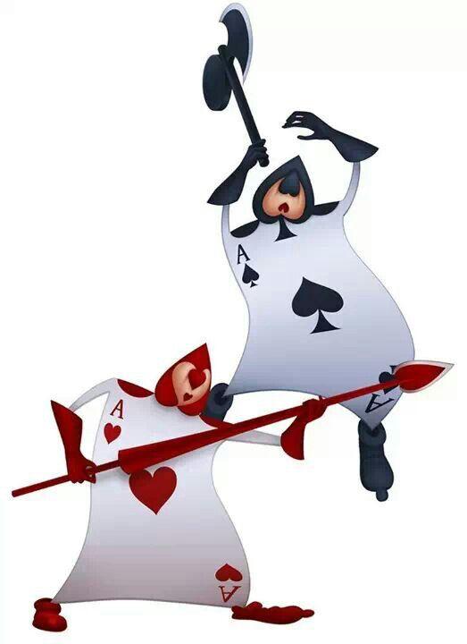 Card Soldiers Alice In Wonderland 1951 Pais De Las Maravillas