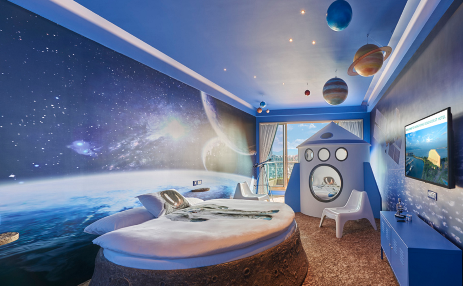 Image result for astronomy themed bedroom