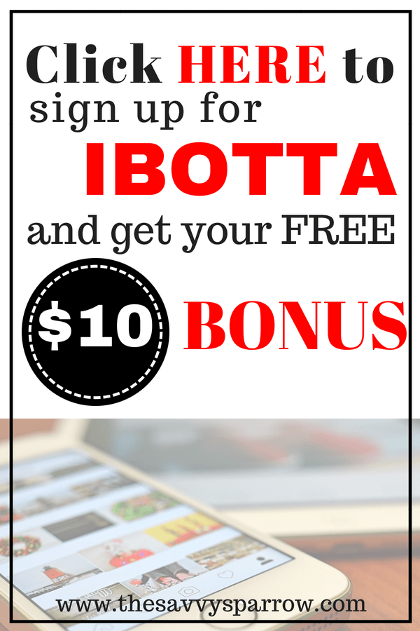 Get Cash Back now with Ibotta! Sign up with Ibotta to earn