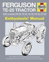 Ferguson Te-20 Tractor - 1946 Onwards (Te-20, To-20, To-30, To