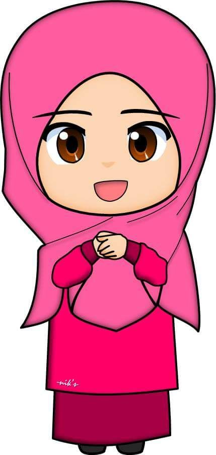 Ana Muslimah Cute Wallpaper Pin Oleh Kiki Amalia Di Muslim Cartoon Kartun Animasi