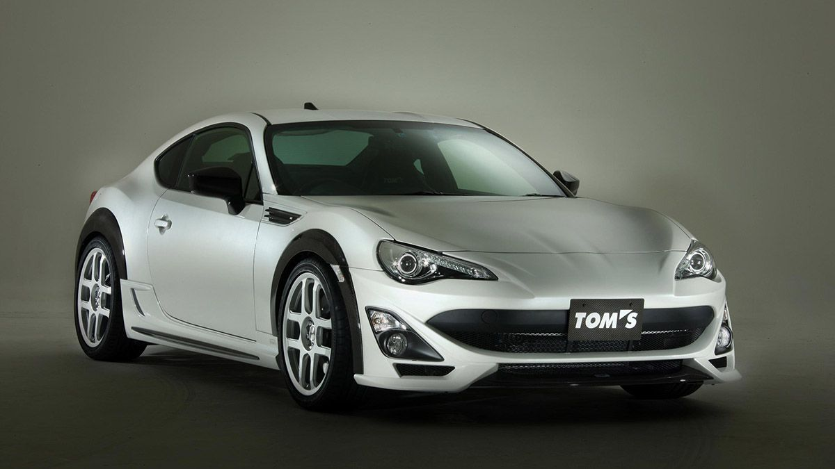 Why Is Toyota Showing Off A Scion Fr S That Looks Like A Supra Toyota Gt86 Toyota Old Classic Cars