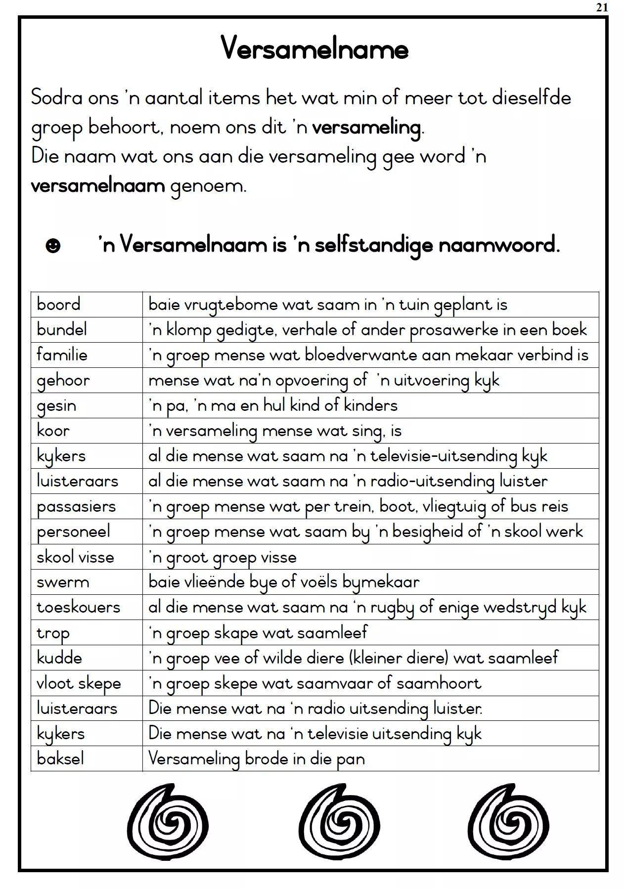 Afrikaans Worksheets Grade 7 Caps Printable Worksheets And Activities For Teachers Parents Tutors And Homeschool Families